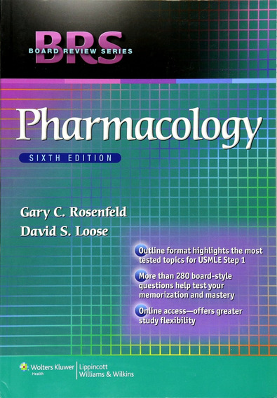 Pharmacology Board Review Usmle 6e Farmacologia