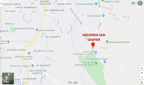 Terreno Hacienda San Gaspar, Paseo De La Hondonada Sup. 860