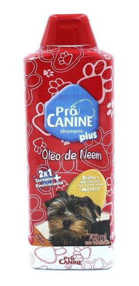 Shampoo Condicionador Pro Canine Para Seu Pet 700ml