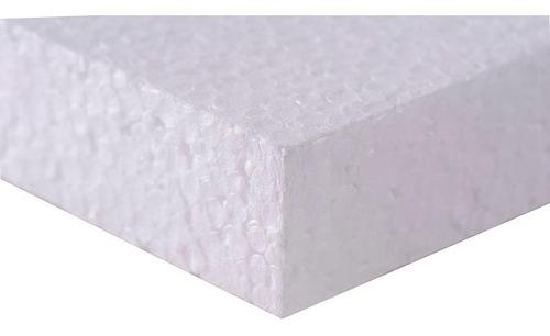 Planchas De Telgopor 1 X 1 X 20mm Std Muro/ Tabique / Techo