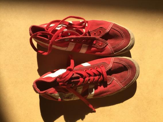 Zapatillas Gola Rojas Talle 36 Como Nuevas
