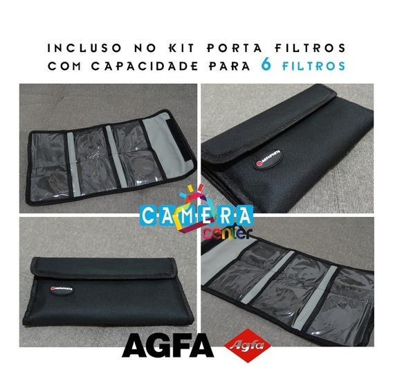Agfa Kit Macro Close-up Fullhd Alta Resoluçao 72mm 67mm Veja