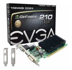 Placa De Vídeo Nvidia Gt 210 Low Profile 1gb Ddr3