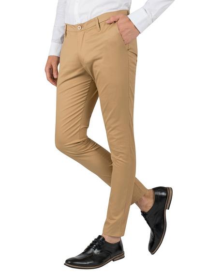 Pantalón Presto Skinny Fit, Hombre Valkymia