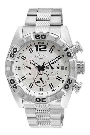 Relógio Condor Prata Masculino Covd33au/3b Original Promoção