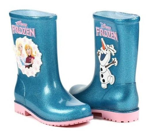Bota Galocha Frozen Disney - Grendene Kids