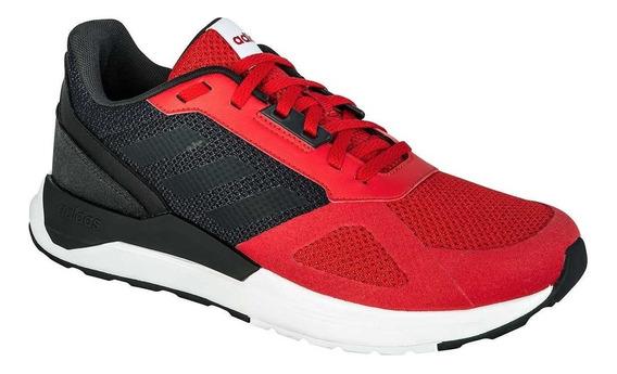 Tenis Original adidas Run80s Clásico Rojo Blanco Bb7433