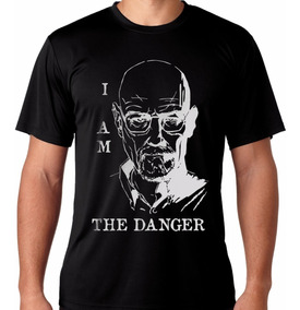 Camiseta Breaking Bad Danger Heisenberg Walter White Camisa