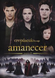 Amanecer Parte 2 Dos Crepusculo Kristen Stewart Pelicula Dvd