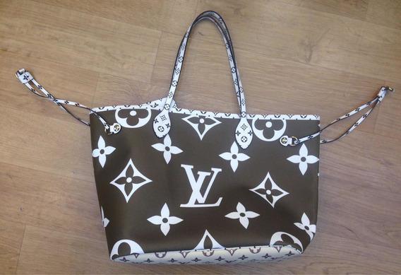 Bolsa Never Full Lançamento Louis Vuitton Top Com Necesser