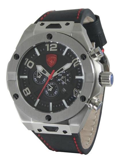 Relógio Masculino Lamborghini Lb90046652m Coleção Murcielago