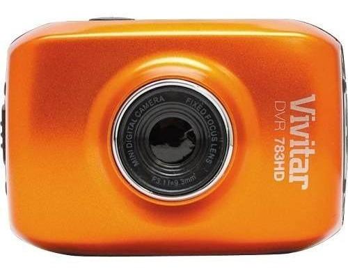 Câmera Filmadora De Ação Hd Com Acessórios Dvr783hd Vivitar