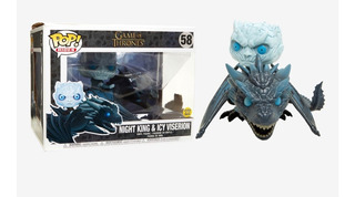 Night King & Icy Viserion Glow In The Dark Funko Game Of Thr