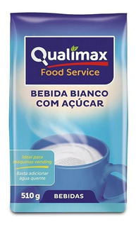 Kit 10 Pct. Leite Em Pó Solúvel Vending Qualimax Bianco 510g