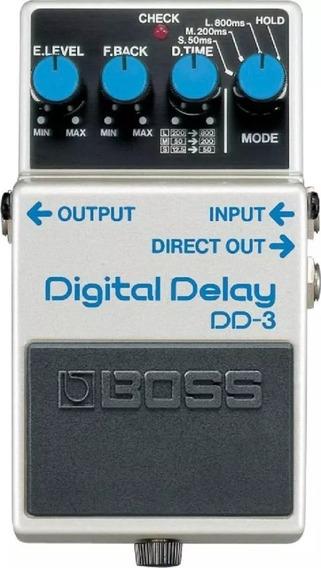 Pedal Boss Dd3 Digital Delay + Nf E Garantia
