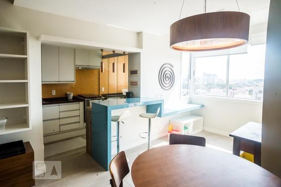 Apartamento No 9º Andar Mobiliado Com 2 Dormitórios E 1 Garagem - Id: 892949781 - 249781