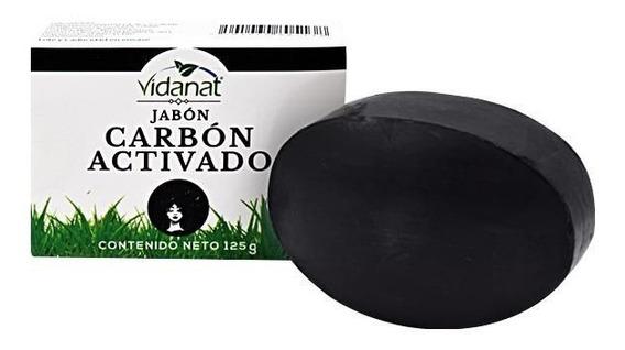 Jabón De Carbón Activado Quita Puntos Negros