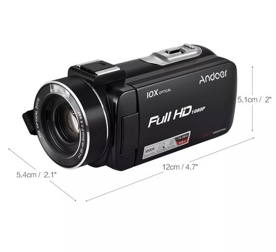 Câmera Digital 24 Mega Pixels Andoer