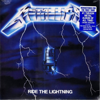 Metallica - Ride The Lightning Vinilo Nuevo Obivinilos
