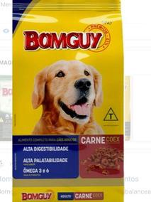 Racao Bomguy Carne Coex Adulto 25 Kg