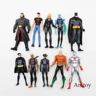 Set Figura De Acción De Superhéroe Superman Batman