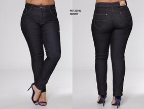 6db5a248a Calça Jeans Plus Size Feminina Biotipo - Calças no Mercado Livre Brasil