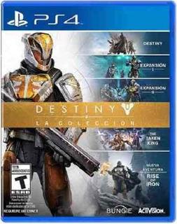Juego Ps4 Destiny La Colección