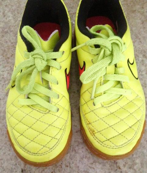 Zapatos De Futsal Nike Tiempo Para Niños