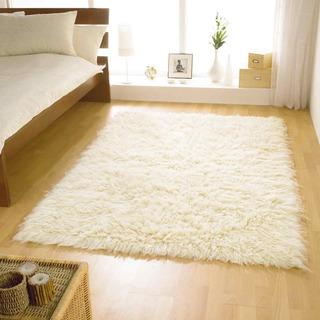 Carpeta Alfombra Flokati Sintetica 100 X 150 Cm Soul