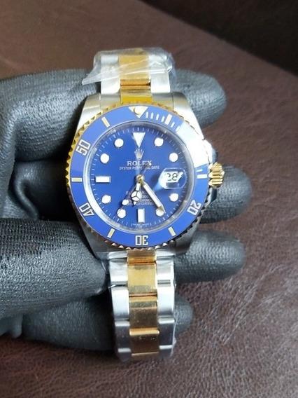 Relógio Gold/blue Submariner