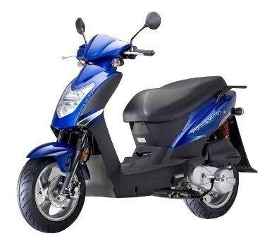 Kymco Agility 125 Scooter Ah 12 Sin Interes !! Ultimos Días!