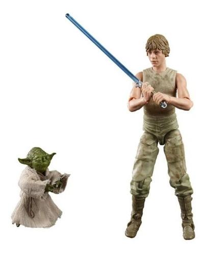 Figuras Star Wars Bls Deluxe Luke E Yoda