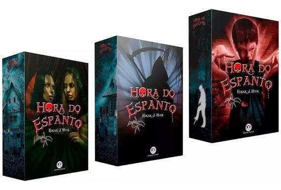 Kit Box Hora Do Espanto - Série 1, 2 E 3 - 18 Livros