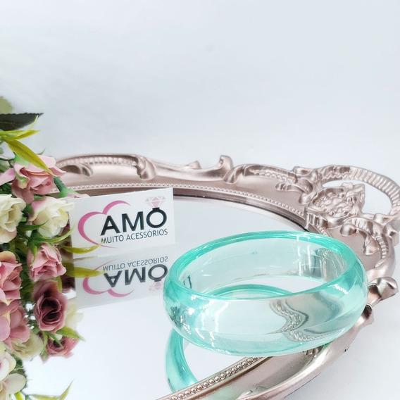 Pulseira Bracelete De Acrílico Varias Cores Redondo