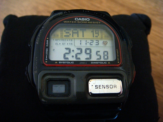 Reloj Casio Bp-100 Sensor Made In Japan
