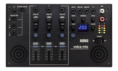 Mini Sintetizador Korg Volca Mix Cuotas