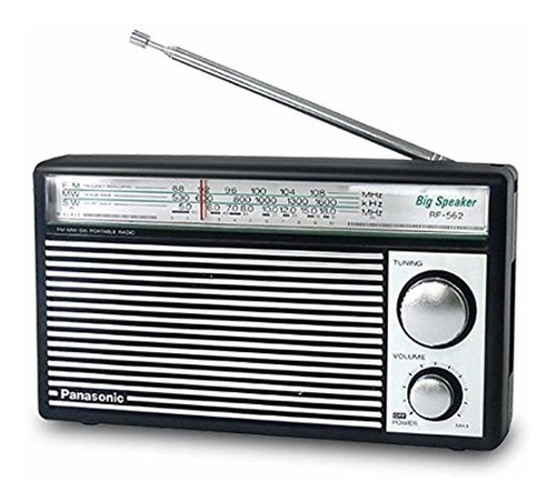 Panasonic Rf-562d Radio Am Fm Onda Cortaestilo R Leer Bien