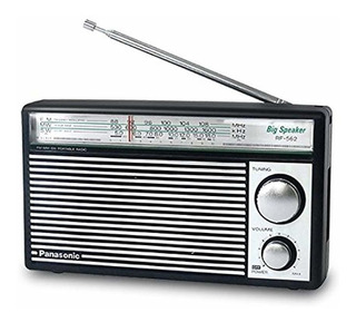Panasonic Rf-562d Radio Am Fm Onda Cortaestilo Ret Batería
