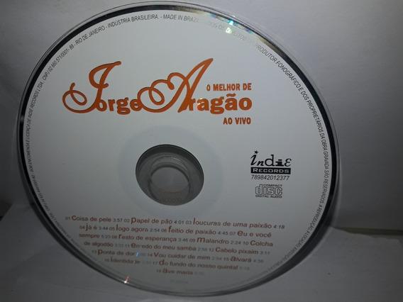 Cd S/encarte E Contra Capa Jorge Aragão 2004 O Melhor