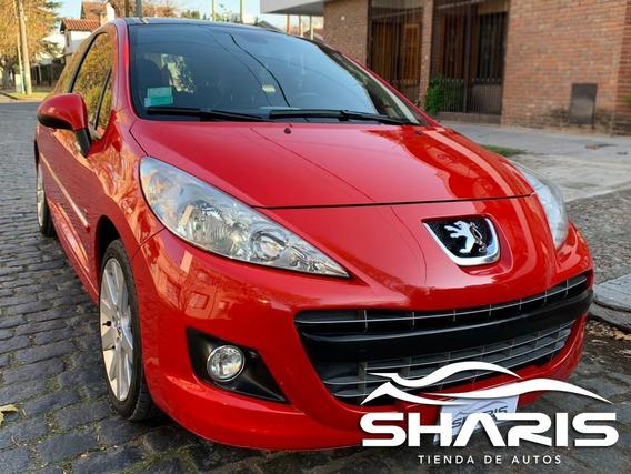 Peugeot 207 Gti 156 Cv Rojo 2011