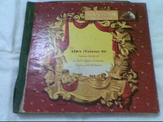 Disco/lp Verdi Aida (vol I Ii) Famous Artists Of La Scala Op