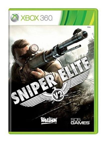 Sniper Elite V2 Jogo Para Xbox 360 Original Envio Imediato!