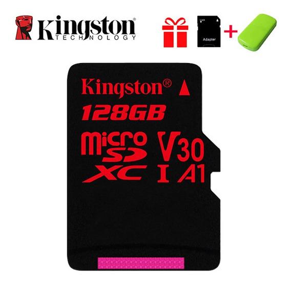 Kingston Extreme Cartão De Memória 128 Gb Micro Sd Cartão Sd