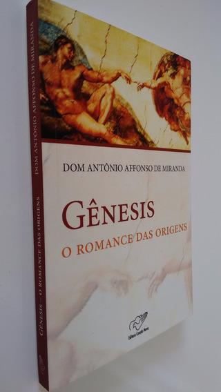 Livro Gênesis O Romance Das Origens Dom Antonio A De Miranda
