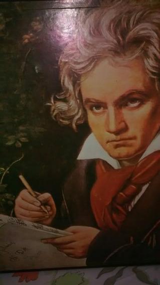 Caixa Box Discos De Vinil, Coletânea Beethoven E A Sinfonia