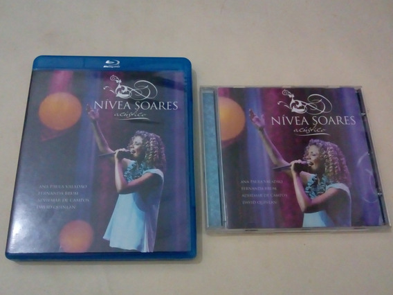 Blu-ray +cd Nívea Soares Acústico Originais