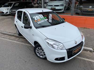 Sandero Authentique 1.0 Flex 2012