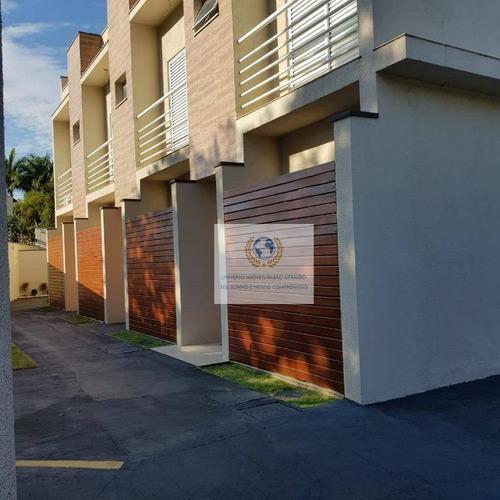 Casa Com 2 Dormitórios À Venda, 81 M² Por R$ 530.000,00 - Parque Da Hípica - Campinas/sp - Ca0475