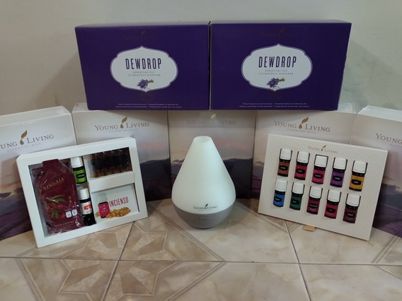Young Living Kit Premium Con Dewdrop 12 Aceites +1 Regalo