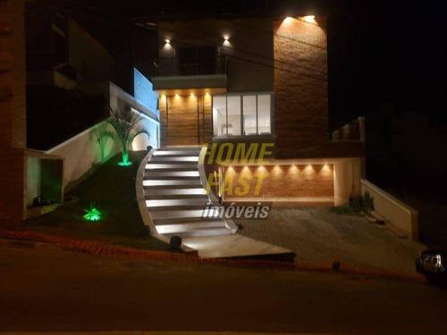 Imagem 1 de 30 de Casa Com 3 Dormitórios À Venda, 307 M² Por R$ 1.600.000 - Residencial Real Park - Arujá/sp - Ca0573
